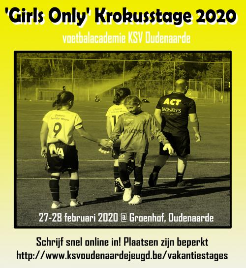 Girls Only  - Krokusstage 2020