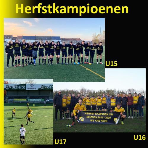 HERFSTKAMPIOENEN U15 - U16 - U17