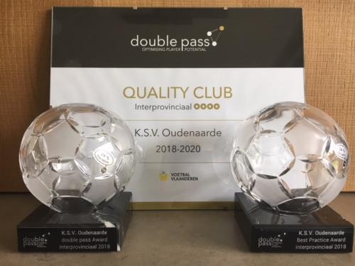Jeugdwerking KSV Oudenaarde in de prijzen op Quality in Sports Happening