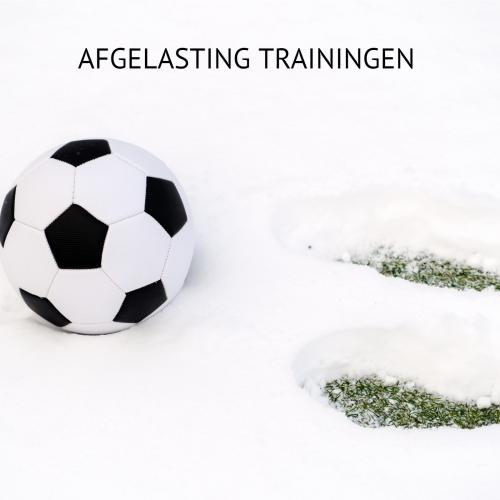 AFGELASTING TRAININGEN